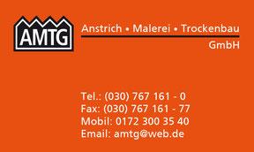 Visitenkarte AMTG