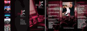Diskothek mit PEP - Faltblatt