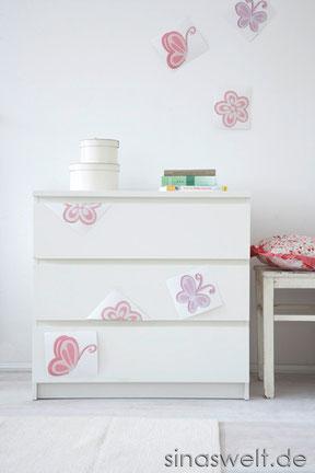 tipps f r die einrichtung und gestaltung des babyzimmers mit do it yourself blog sina s welt. Black Bedroom Furniture Sets. Home Design Ideas