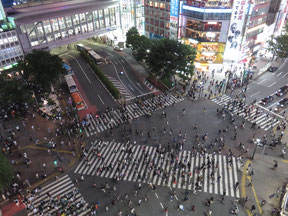 Shibuya Scramble Intersection