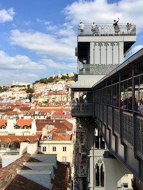 Santa Justa Aufzug Lissabon