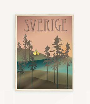 Schweden Poster