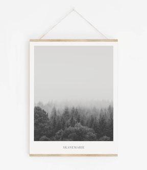 Landskap No24 - Skandinavische Poster