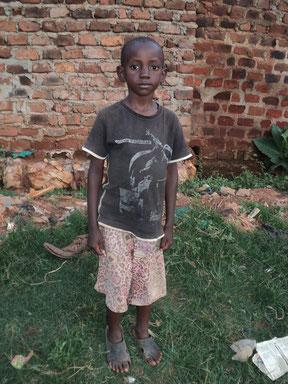 Usaama Ssemanda. Aged 6 yrs