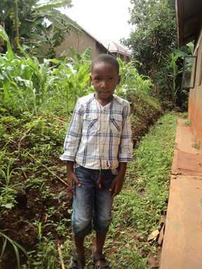 Katete Ethan. Aged 5 yrs