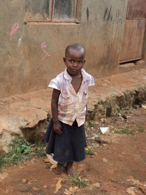 Kauthara Nabulime. Aged 4 yrs
