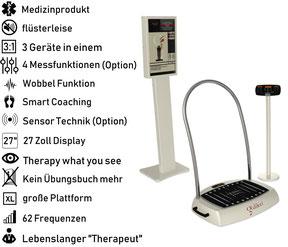 Vibrationsplatte Galileo Med Fit PT Extreme Sensor, Vibrationstrainer, Galileo Training, gebraucht, kaufen, Preise, Preis, Test, Vertrieb: www.kaiserpower.com