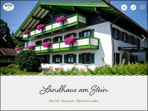 www.landhausamstein.de