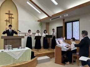 鹿児島聖書バプテスト 聖歌隊