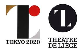 Comparaison entre le logo des Jeux et celui du théâtre de Liège
