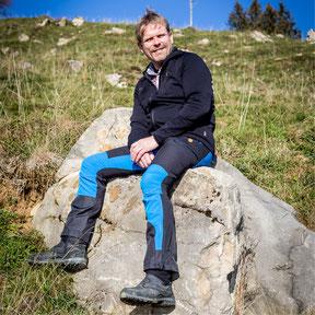 mit sich, Auszeit auf der Alp, Ronald Kalbermatten, Der Coach