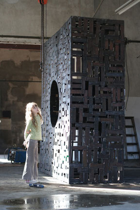 sculpture monumental, vanorbeek, sculpteur en France