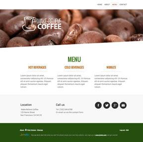 site jimdo sidebar en bas de page