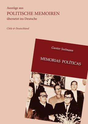Buch, memorias politicas, Günter Seelmann, Chile