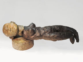 Figur 277, Bronze, 2015, 9x27x8cm