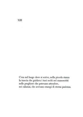 pagina tipografica con testo stampato in Bodoni corpo 28