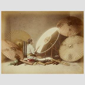 Kusakabe Kinbei, Umbrella Maker