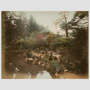 Unknown photographer, Gardens of the Mikado in Tokyo