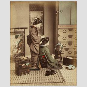 Kusakabe Kinbei  Hairdressing Girls
