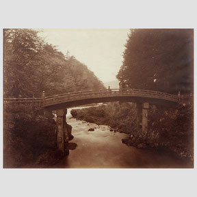 Unknown photographer,  Japon, Le pont de Nikko