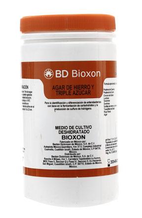 211400 BD Bioxon® Agar Hierro y Triple Azúcar, 450 g