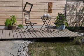 Wasser im Garten; Gartenteich St. Georgen, Unterkirnach, Königsfeld, Schönwald, Vöhrenbach