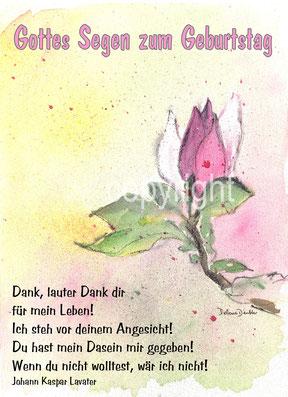 Gedicht von Lavater