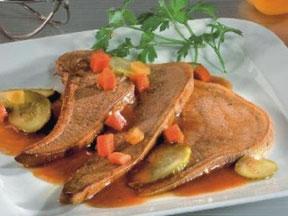 Langue de bœuf sauce piquante Joli'mousine