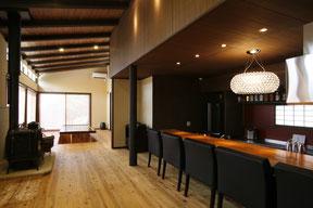 神奈川県で薪ストーブハウス