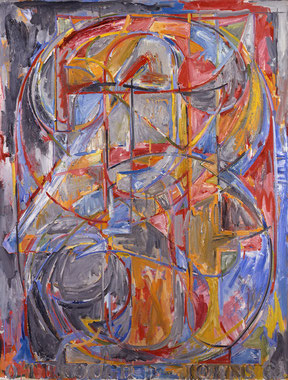 '0 through 9' - Jasper Johns (1960).