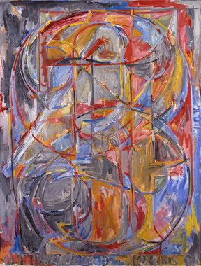 '0 through 9' - Jasper Johns (1960).