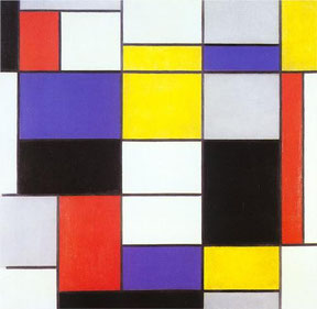 'Composition A' - Piet Mondrian (1923)