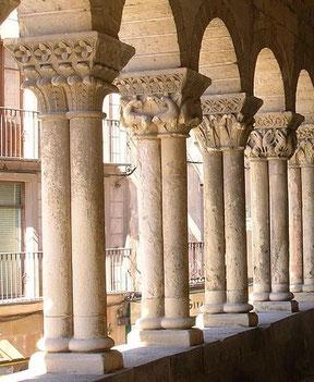 Pórtico de la iglesia de San Martín en Segovia. Fuente: desconocida.