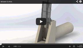 Vidéo écluse Sy Meca