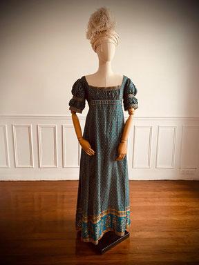 robe premier empire regency bridgerton chateau Versailles