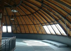 Vom Erdgeschoss bis zur Kuppel scheint der H2O-Turmpark in Magdeburg akustisch über 4 Etagen vereint zu sein.