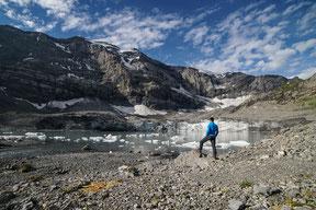 Klausenpass Wanderung Im Griess Gletscher See Clariden
