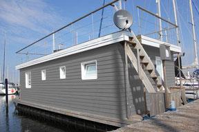 Koje Kalle - Hausboot in Heiligenhafen mieten