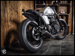 Triumph Bonneville Custome Bike
