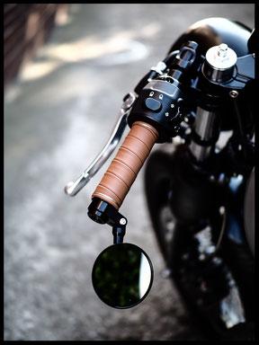 Motorrad Ledergriffe