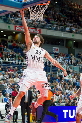 Baloncesto. Euroliga. Real Madrid. Llull