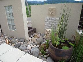 アジアン坪庭