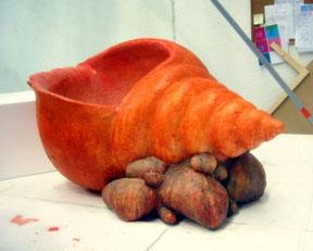 Caracola Gigante, Para Exposición.
