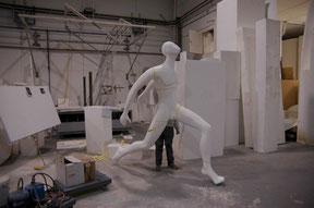 Ampliación de Escultura de Atleta Olímpico
