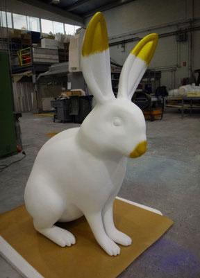 Conejo de Pascua Gigante 150 cm , Como Reclamo