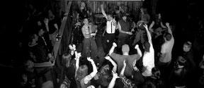 Party, Löffel, Releaseshow, Åntagonist