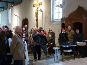 La visite de l'Eglise St Pierre