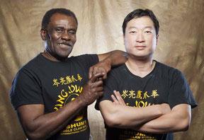 Master Cecil Jordan & Sifu Paul  Lee
