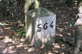 Borne Frontière No 564