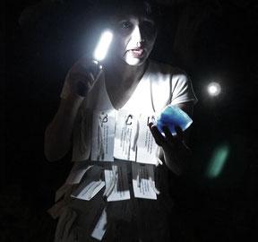 Francesca Fini - Meccanimus -  performance 2014
